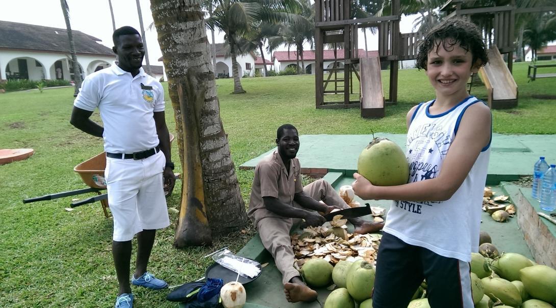 The Connollys in Ghana
